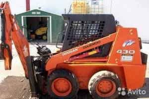 Doosan skid loader 450 plus